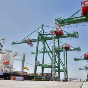 Konecranes Ship-to-Shore gantry cranes